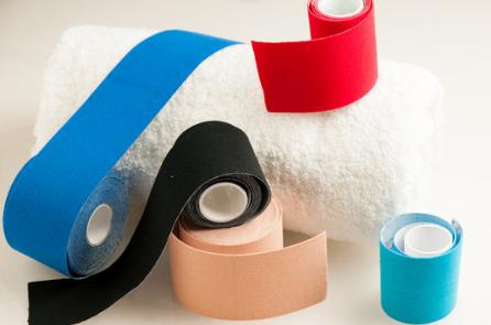 que significan los colores de las cintas de fisioterapia